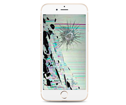 Cracked Glass Iphone 6 Iphone 6 Plus Glass Lcd